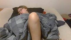 my sexy nerdy wife doing it again