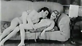 Magician Magically Makes Her Clothes Disappear (Vintage)