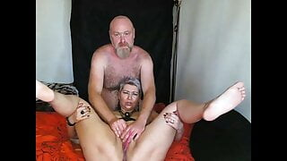 Mom and dad fuck in a private show...))