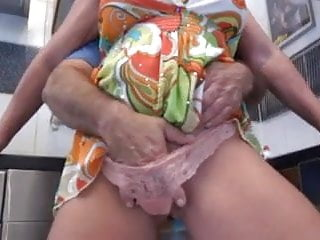 Mom that has dog cock Gran agneta has fun with her nephew when grandfather in the