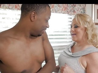 Mother swallows sons cum - White mother invites younger black man home.