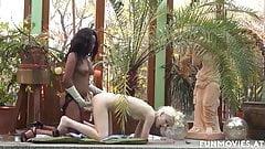 Amateur German Homemade Orgy