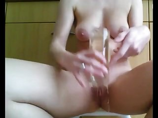 Peeing in a glass and drinking it Hot amateur bbw couple pee games and drinking compilation 1