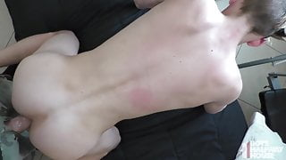Sexy Young Twink Gets Creeped On By Daddy