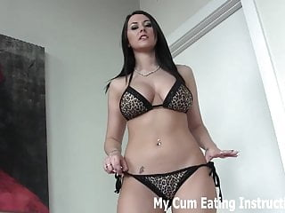 I want milk in my breast - I want to milk two loads of cum out of you cei