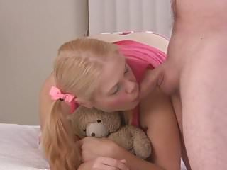 Young cute anal - Stp1 daddys cute girl loves pleasing him