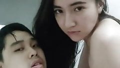 Hot And Horny Indonesian GF Woman On Top