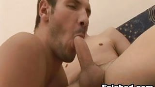 Nice Gay Sex With Sperm Felching