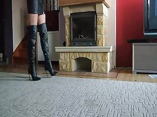 Fetish boot for lady Lady amelia in boots - saf
