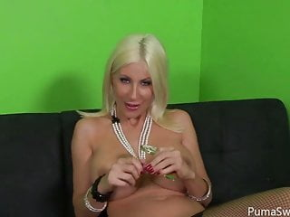 Puma swede at poker babe nude Blonde euro babe puma swede sucks big cock for cum