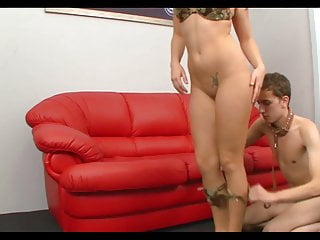 Amenorrhoea with oral contraceptives - Goddess with oral slave
