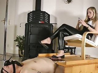 Car crush video fetish Flats dangling, shoeplay cock crush
