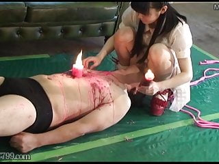 Femdom cock tgp Japanese cfnm femdom cock whipping