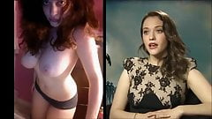 SekushiLover - Kat Dennings Talk vs Nude Selfies