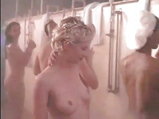 Naked anne heche Anne heche drops the soap