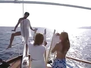 Claudia schiffer sex movies - Alexa schiffer in hot 3some boat