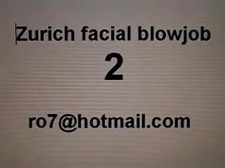 Facial blowjob videos Zurich facial blowjob 2