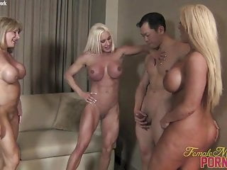Do female porn stars cum - Female bodybuilder porn star reverse gangbang