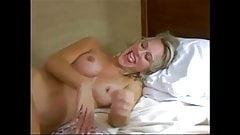 Blond hotwife cuckold fuck