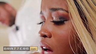 Phat ass ebony bride to be Nina Rivera loves anal - Brazzers