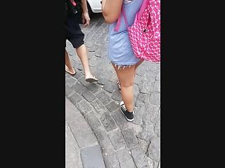 Bermuda adult - Bermuda jeans aparecendo a poupinha