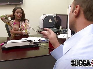 Pornstar candice - White stud couldnt resist candice nicoles big black tits