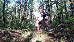 COMPILATION, POLINA FUCKS HER SLUT WITH A STRAPON