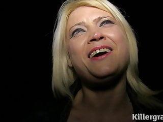 Xxx multiple cocks - Cum slut milf on her knees dogging with multiple cocks