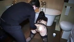 Hot wife gets throatfucked by another bbc