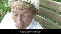 Scrawny old man does anal 21 sexy longhaired blonde