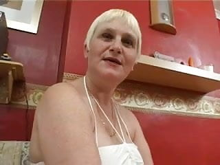 Gay dark and white meat Granny likes the dark meat