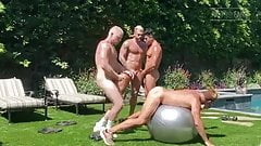 Gay Sex : Logan Stevens and friends, fuck not swing sex.