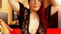 Mature cute saggy tits webcam