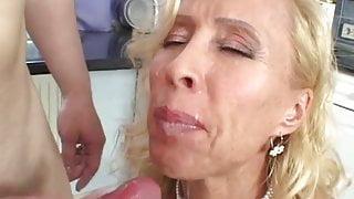 Hot blonde MILF in hardcore