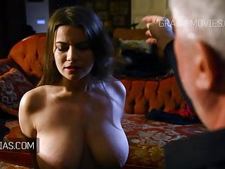 Girls slap tit - Cute girl with great natural tits slapped around