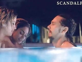 Vaneesa hudgens boobs Vanessa hudgens threesome sex scene on scandalplanet.com