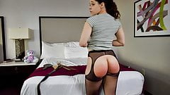 The Pain of the Strap! - Spanking