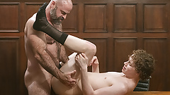 MormonBoyz - Burly Priest Fills A Missionary Boys Butt