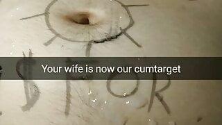 Your wife is a public cum dump and cum target now! - Milky Mari