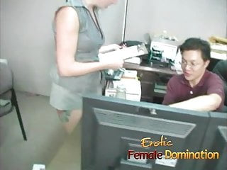 Sexy social worker stories Sexy boss lady has some fun with a bad worker