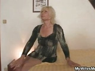 Mother in law sex tube Blonde mother in law seduces me into sex
