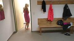 Sofie Steinfeld : Secretly filmed while showering