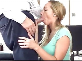 Young girl fucking boss - Name the whore- sexy young girl sucks boss to keep job