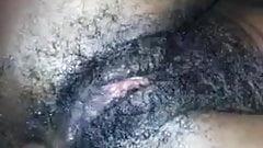 Bbc fuck hairy slut pussy and anal