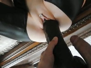 Large squirting dildo - Large dildo