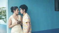 Teenager young girl and boys