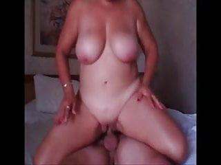 Boob mature xl - Big boob mature bounce on cock
