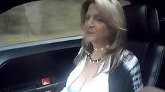 52 YO MILF car riding prt2
