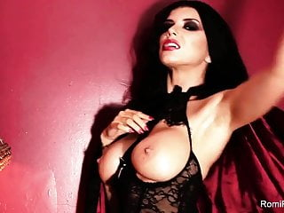 Vampire nude girl Romi the busty vampire