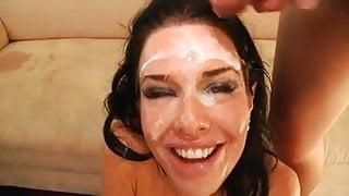 Veronica Avluv blowbang facial
